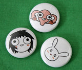 Sarah's Scribbles Button Set