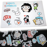 Sarah's Scribbles Sticker Set 01
