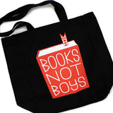 Books Not Boys Tote