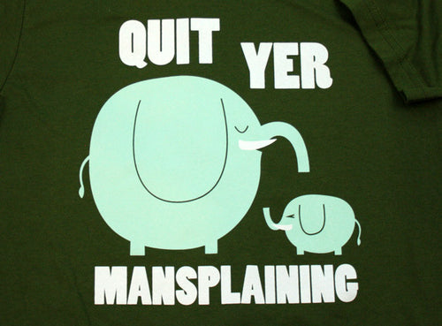 Mansplaining Shirt