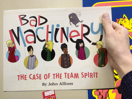 Bad Machinery Vol 3: The Case of the Simple Soul Book