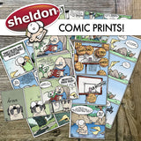 Sheldon Comic Prints