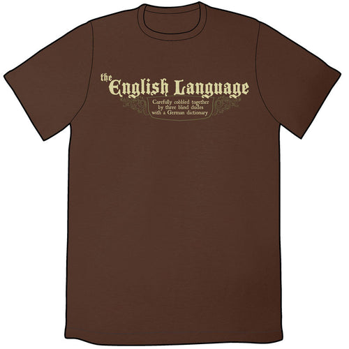 Sheldon English Language Shirt