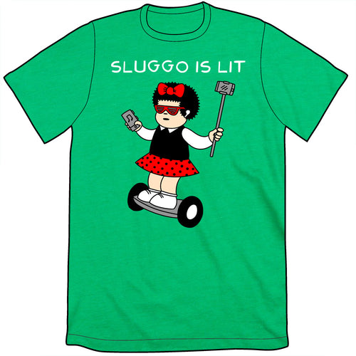 Sluggo Is Lit Shirt