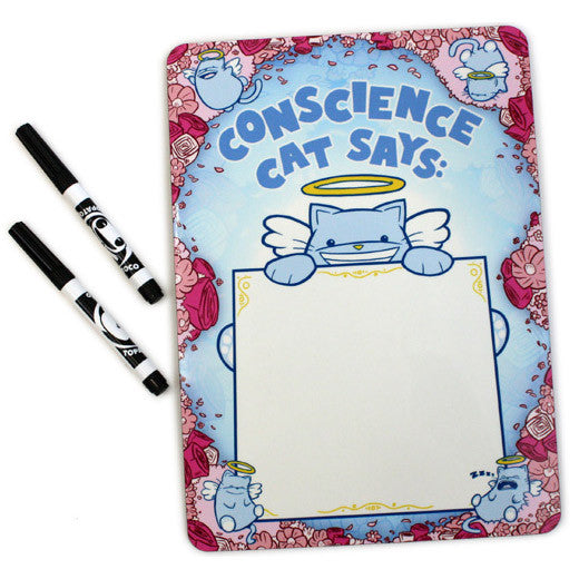 Conscience Cat Whiteboard