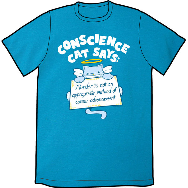 Conscience Cat Shirt