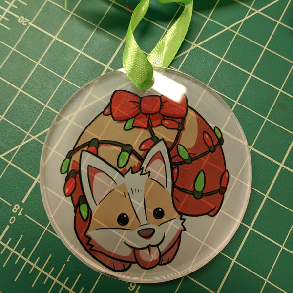 Corgi Ornament!