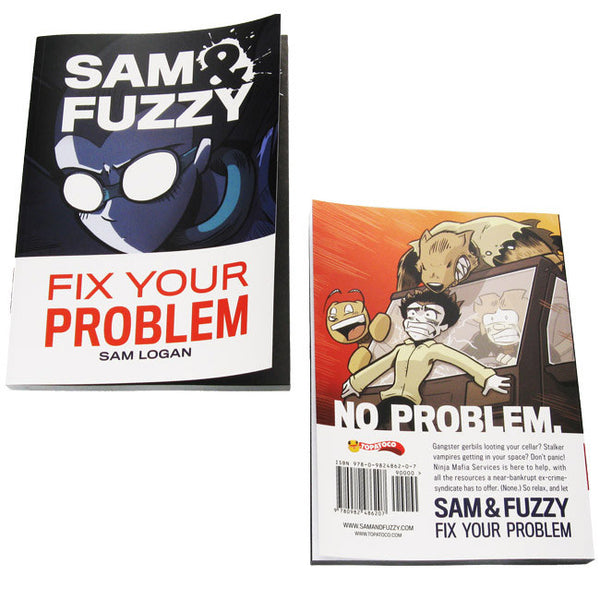 Sam and Fuzzy Fix Your Problem (S&F Book 1)