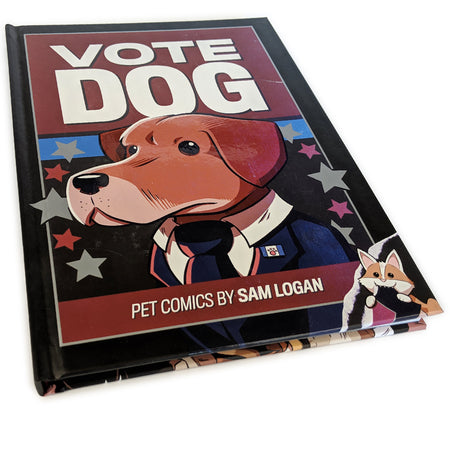 Vote Dog Pin