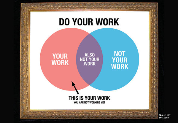 ce183fc8a26 Do Your Work Poster Print – TopatoCo