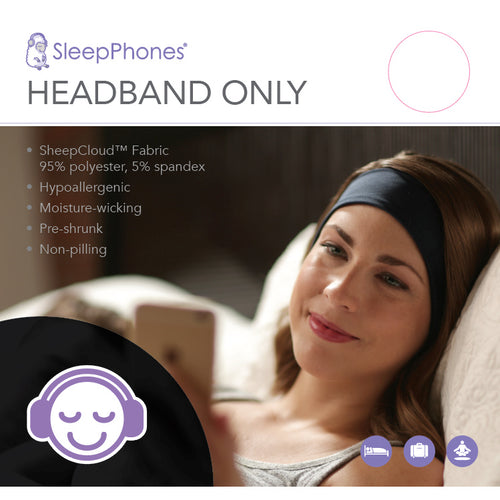 Sleep With Me SleepPhones® Headbands