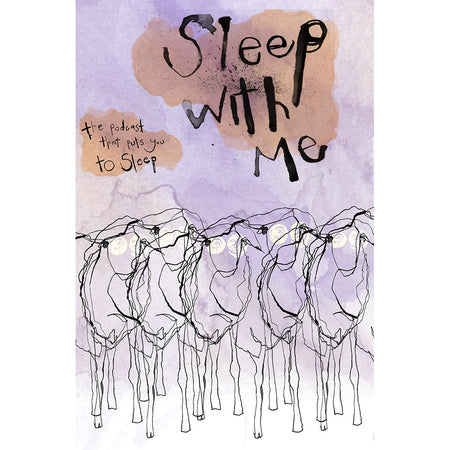 Sleep With Me Logo Pillowcase