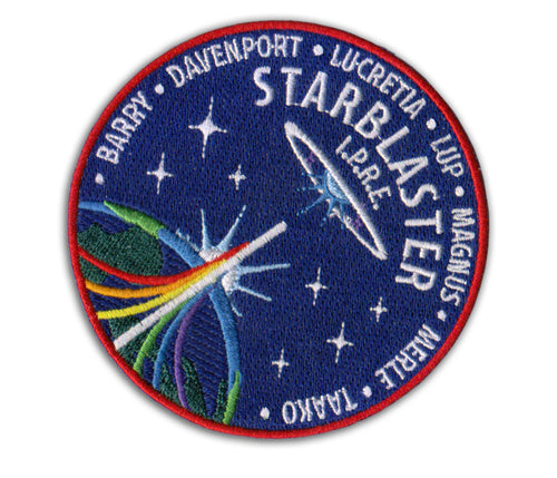 The Adventure Zone Starblaster Patch
