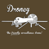 Droney the Friendly Drone Shirt