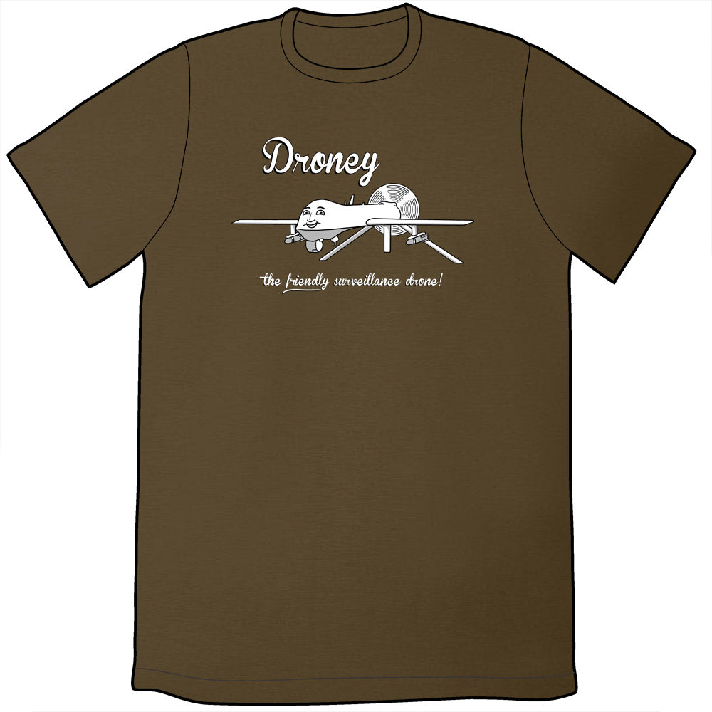 266e48867 Droney the Friendly Drone Shirt