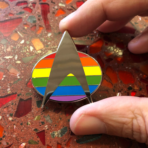 Federation Pride Enamel Pin