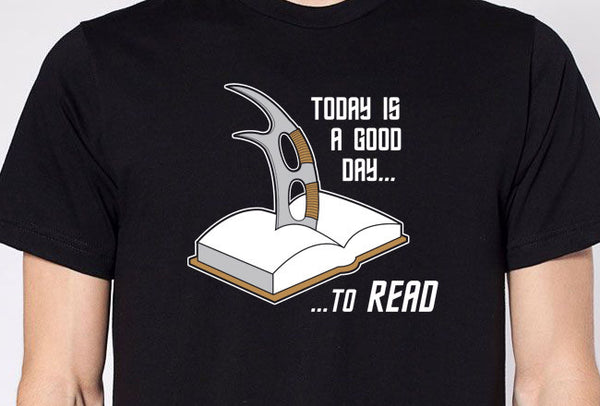 It Is a Good Day to Read Shirt