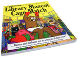 Library Mascot Cage Match Book