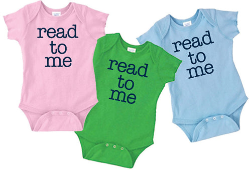 Read To Me Onesies