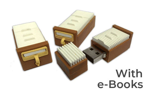 Unshelved Card Catalog USB
