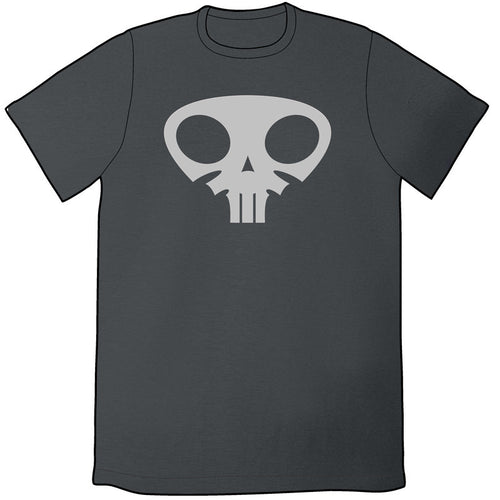 Question Sleep Skull Shirt (Asphalt)