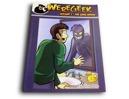 Weregeek Magnetic Poetry Set