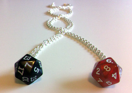 Weregeek Dice Earrings