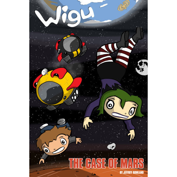 Wigu: The Case of Mars Book