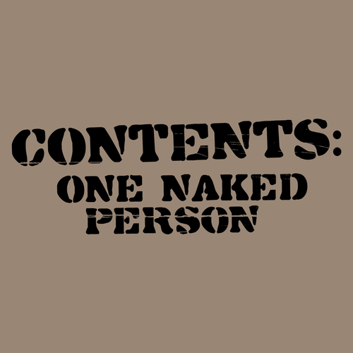 Contents: One Naked Person Shirt