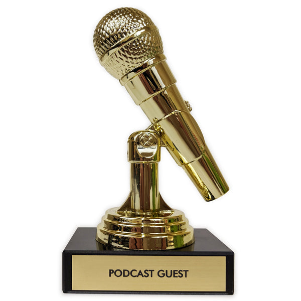 Podcast Guest Trophy