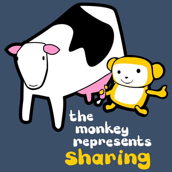 The Monkey Represents Sharing Shirt