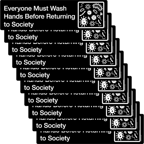 Wash Your Dang Hands Stickers