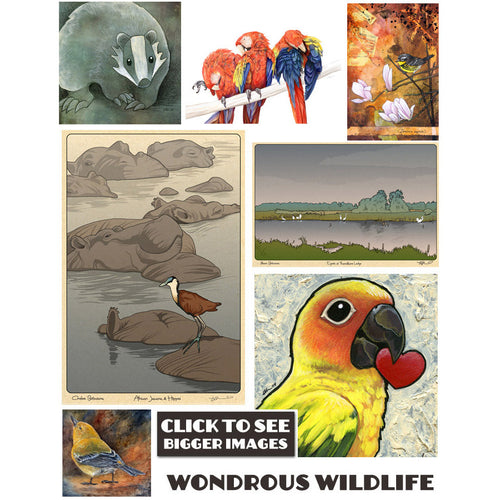 Wondrous Wildlife Prints