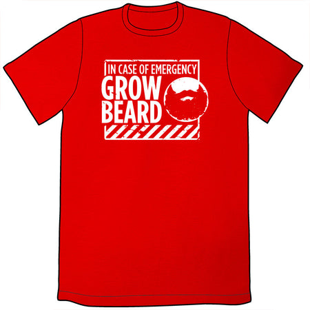 Beard Measuring Shirt