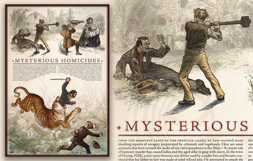 Mysterious Homicides Poster