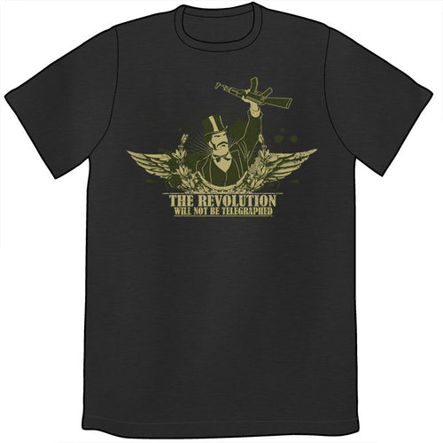 The Revolution Will Not Be Telegraphed Shirt