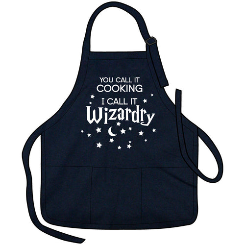 Cooking Is Wizardry Apron