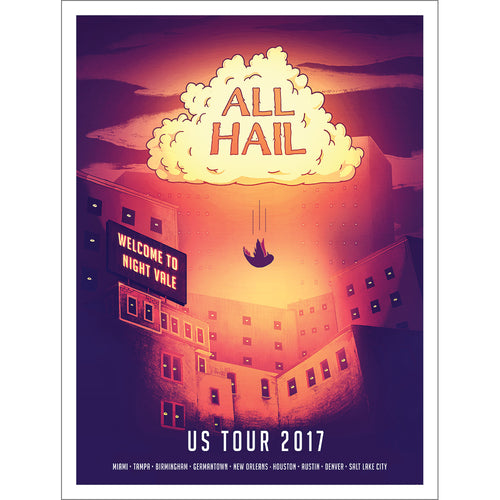 All Hail Tour 2017 Poster