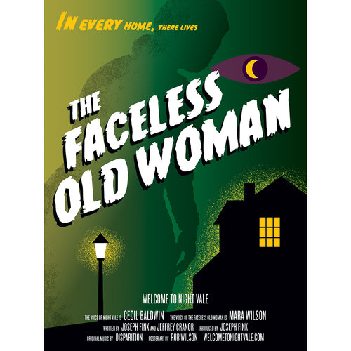The Faceless Old Woman Poster
