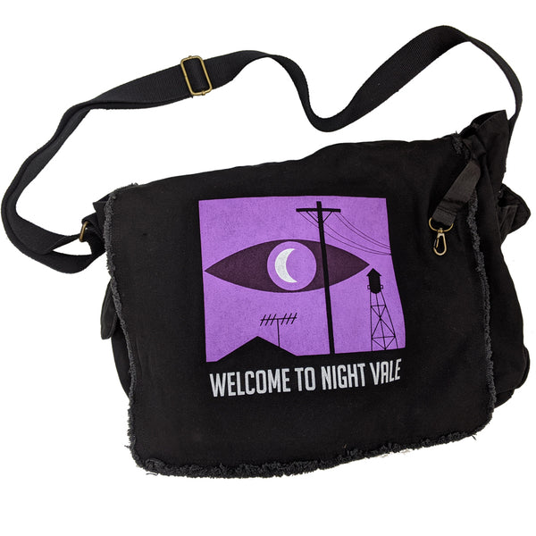 WTNV Logo Messenger Bag