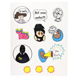 Yes I'm Hot in This Sticker Pack