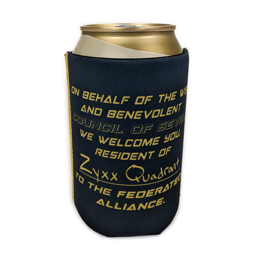 Official Federated Alliance Koozie!