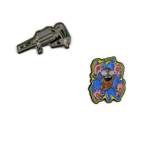 Mission to Zyxx Pins