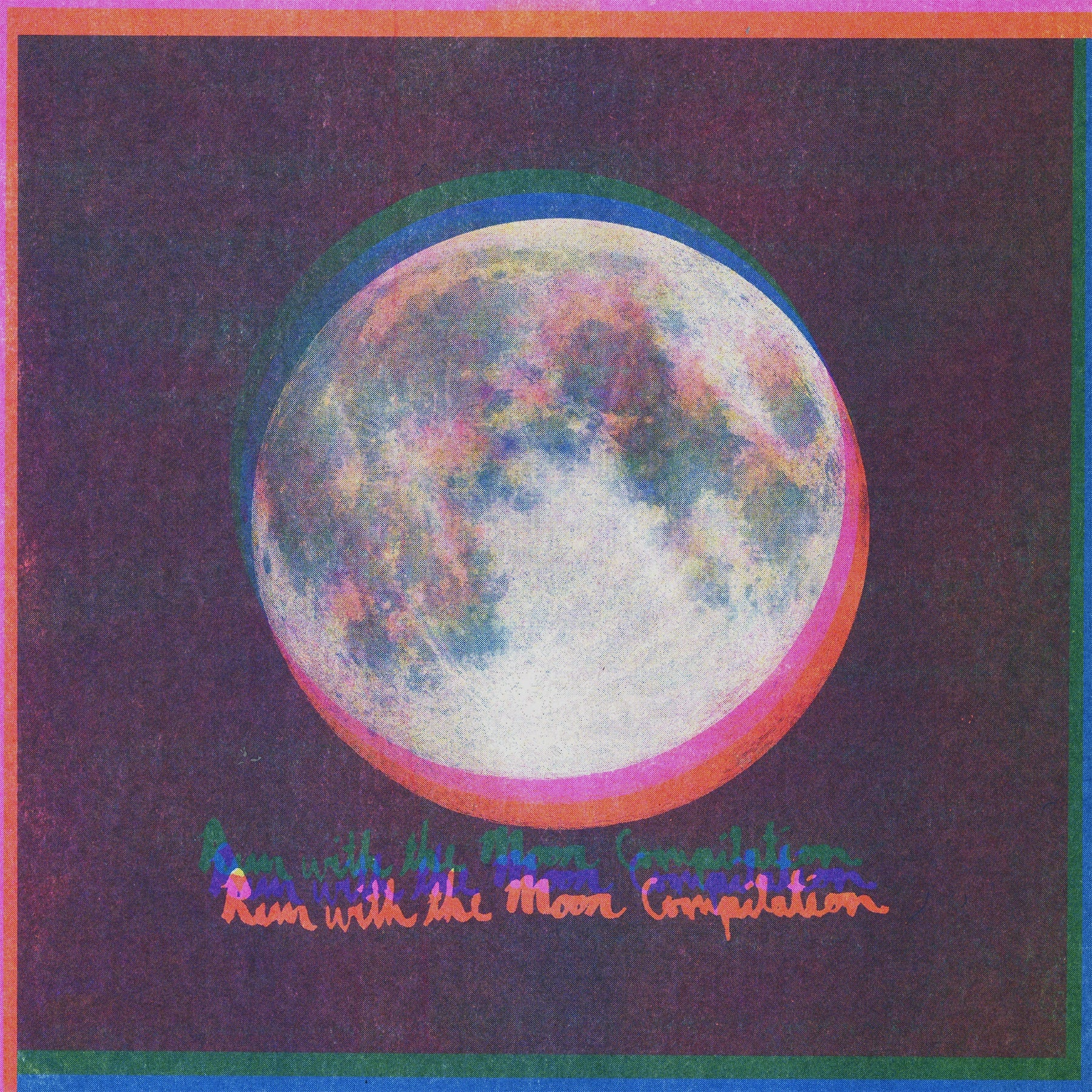 Run With The Moon LP cover photo