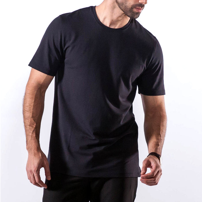 METEORITE BLACK SHORT SLEEVE