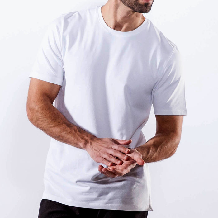 BONE WHITE SHORT SLEEVE