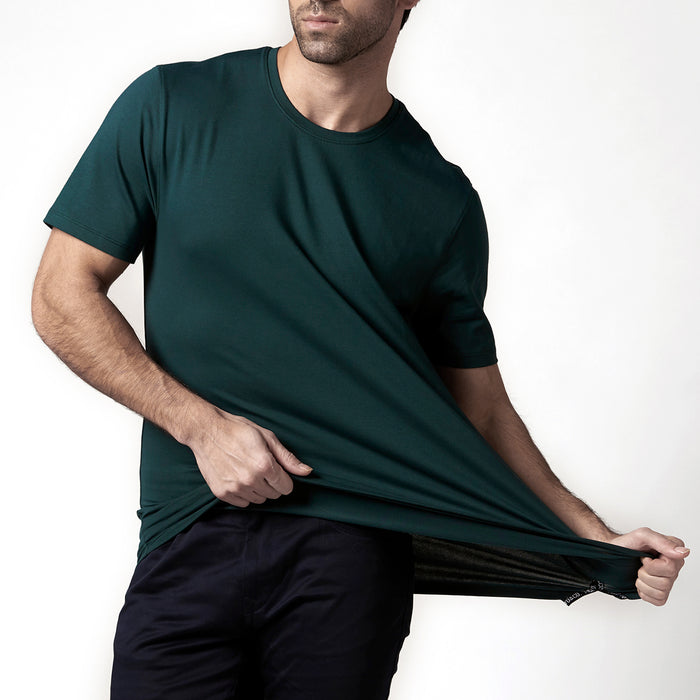 GABLE GREEN SHORT SLEEVE