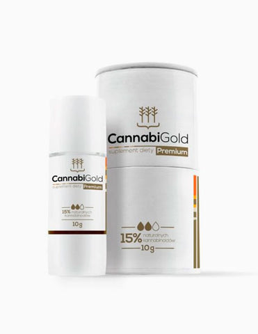CBD kapljice 15% Cannabigold, 10ml