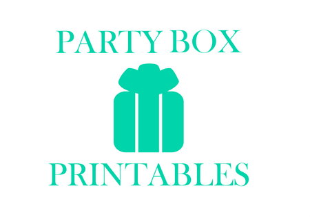 Party Box Printables