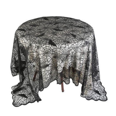 Halloween lace table cover
